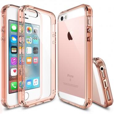 """Ringke """"Fusion"""" védőtok iPhone SE / 5 / 5S készülékekhez – rose gold crystal"""