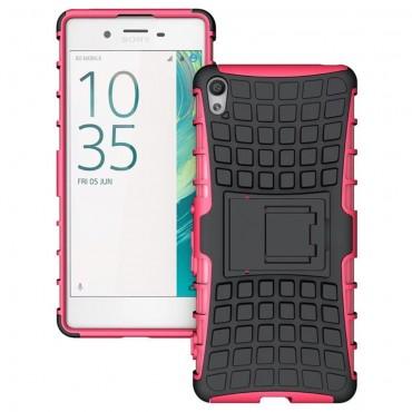 """Strapabíró """"Tough"""" TPU védőtok Sony Xperia XA készülékekhez – rózsaszín"""
