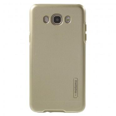 """Strapabíró """"Dot"""" TPU védőtok Samsung Galaxy J7 2016 készülékekhez – aranyszínű"""