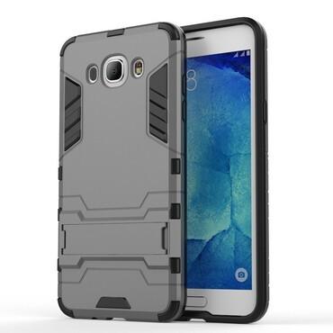 """Strapabíró """"Impact X"""" védőtok Samsung Galaxy J7 (2016) készülékekhez – szürke"""