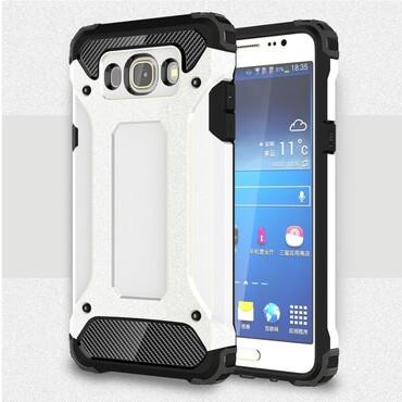 """Strapabíró """"Rock"""" védőtok Samsung Galaxy J7 2016 készülékekhez – fehér"""
