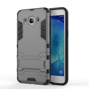"""Strapabíró """"Impact X"""" védőtok Samsung Galaxy J5 (2016) készülékekhez – szürke"""
