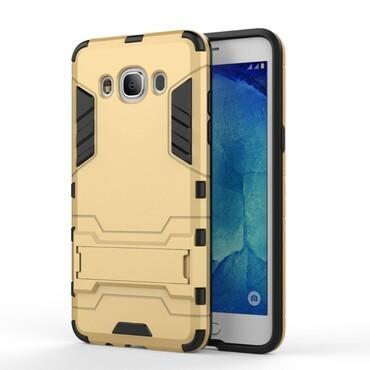 """Strapabíró """"Impact X"""" védőtok Samsung Galaxy J5 2016 készülékekhez – aranyszínű"""