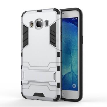 """Strapabíró """"Impact X"""" védőtok Samsung Galaxy J5 2016 készülékekhez – ezüstszínű"""