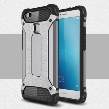"""Strapabíró """"Rock"""" védőtok Huawei P9 Lite készülékekhez – szürke"""