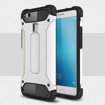 """Strapabíró """"Rock"""" védőtok Huawei P9 Lite készülékekhez – fehér"""