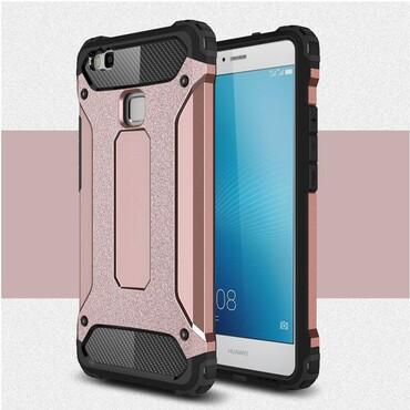 """Strapabíró """"Rock"""" védőtok Huawei P9 Lite készülékekhez – rózsaszín"""