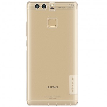"""Vékony """"Nature"""" prémium védőtok Huawei P9 készülékekhez – átlátszó"""