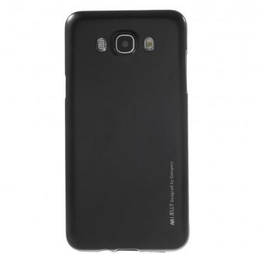 Goospery iJelly Case TPU géles védőtok Samsung Galaxy J7 2016 készülékekhez – fekete