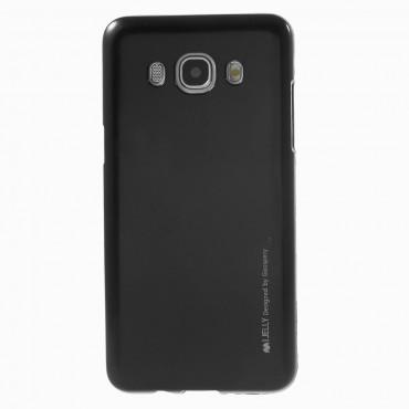 Goospery iJelly Case TPU géles védőtok Samsung Galaxy J5 2016 készülékekhez – fekete