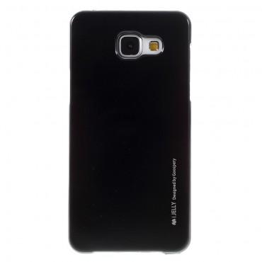 TPU géles Goospery iJelly Case védőtok Samsung Galaxy A5 2016 készülékekhez – fekete