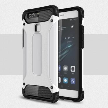 """Strapabíró """"Rock"""" védőtok Huawei P9 készülékekhez – fehér"""
