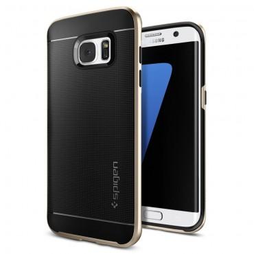 """Spigen """"Neo Hybrid"""" védőtok Samsung Galaxy S7 Edge készülékhez – champagne gold"""