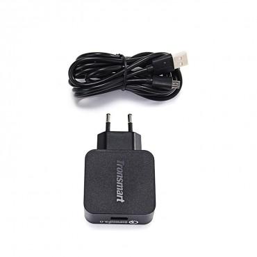 Prémium Tronsmart Quick Charge 3.0 töltő, mikro USB kábellel