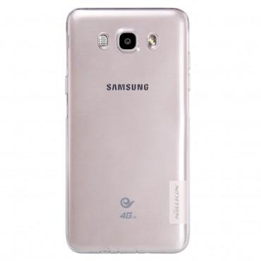 """Vékony """"Nature"""" prémium védőtok Samsung Galaxy J5 2016 készülékekhez - átlátszó"""