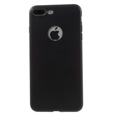 TPU gél tok iPhone 8 Plus / iPhone 7 Plus készülékekhez - fekete