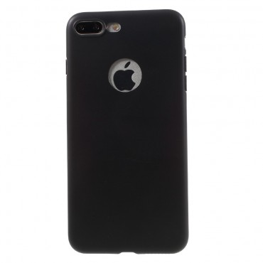 TPU géles védőtok iPhone 8 Plus / iPhone 7 Plus készülékekhez – fekete