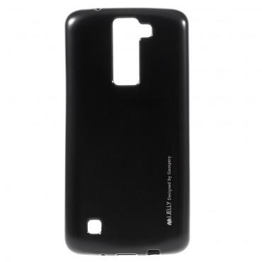 Goospery iJelly Case TPU géles védőtok LG K8 készülékekhez – fekete