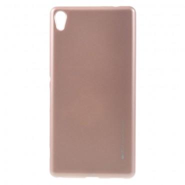 Goospery iJelly Case TPU géles védőtok Sony Xperia XA készülékekhez – rózsaszín