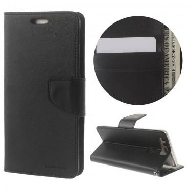 Goospery Bravo Diary tárca Huawei P9 készülékekhez – fekete