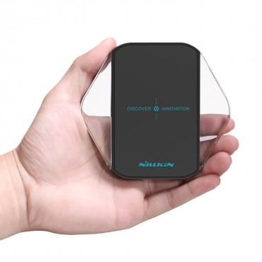 Vezeték nélküli töltőállomás Nillkin Magic Cube minden QI támogatott mobilkészülékhez - fekete