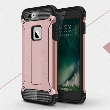 """Strapabíró """"Rock"""" védőtok iPhone 8 / iPhone 7 készülékekhez – rózsaszín"""