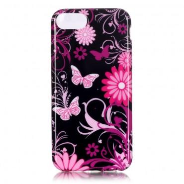 Flower World TPU géles védőtok iPhone 8 / iPhone 7 készülékekhez