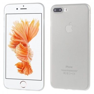 Ultravékony, kemény, 0,3 mm-es védőtok iPhone 7 Plus készülékekhez – szürke