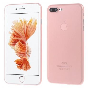 Ultravékony, kemény, 0,3 mm-es védőtok iPhone 7 Plus készülékekhez – rózsaszín