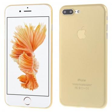 Ultravékony, kemény, 0,3 mm-es védőtok iPhone 7 Plus készülékekhez – aranyszínű
