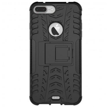 """Strapabíró """"Tough"""" TPU védőtok iPhone 8 Plus / iPhone 7 Plus készülékekhez – fekete"""