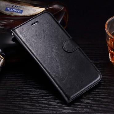 """Divatos """"Smooth"""" tárca iPhone 8 Plus / iPhone 7 Plus készülékekhez – fekete"""