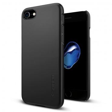 """Tok Spigen """"Thin Fit"""" iPhone 7 készülékekhez - black"""