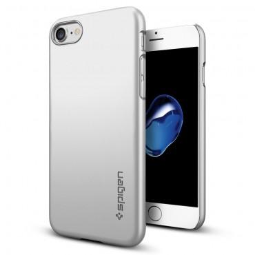 """Spigen """"Thin Fit"""" védőtok iPhone 7 készülékhez – satin silver"""
