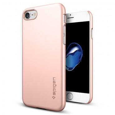 """Tok Spigen """"Thin Fit"""" iPhone 7 készülékekhez - rose gold"""