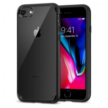 """Spigen """"Ultra Hybrid"""" védőtok iPhone 8 / iPhone 7 készülékhez – fekete"""