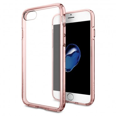 """Spigen """"Ultra Hybrid"""" védőtok iPhone 8 / iPhone 7 készülékhez – rose crystal"""