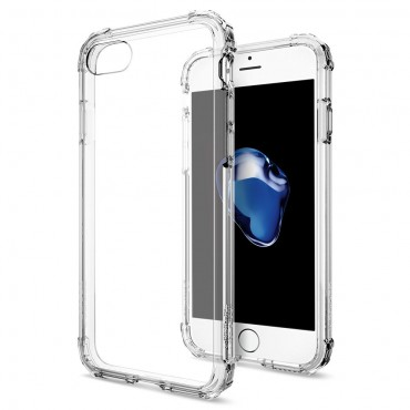 """Tok Spigen """"Crystal Shell"""" iPhone 8 / iPhone 7 készülékekhez - clear crystal"""