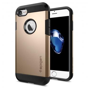 """Tok Spigen """"Tough Armor"""" iPhone 7 készülékekhez - champagne gold"""