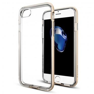 """Spigen """"Neo Hybrid Crystal"""" védőtok iPhone 7 készülékhez – champagne gold"""