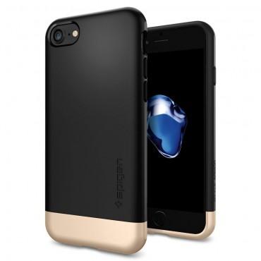 """Tok Spigen """"Style Armor"""" iPhone 7 készülékekhez - black"""