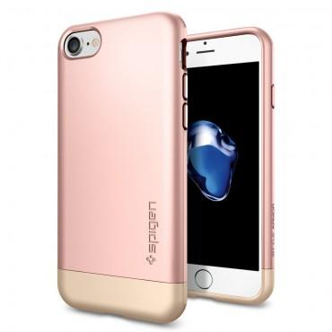 """Spigen """"Style Armor"""" védőtok iPhone 7 készülékhez – rose gold"""