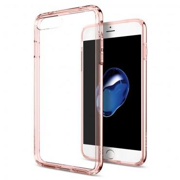 """Spigen """"Ultra Hybrid"""" védőtok iPhone 8 Plus / iPhone 7 Plus készülékhez – rose crystal"""
