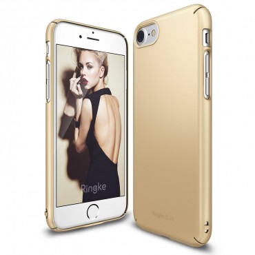 "Ringke ""Slim"" védőtok iPhone 7 telefonokhoz – royal gold"