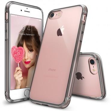 """Ringke """"Fusion"""" védőtok iPhone 8 / iPhone 7 készülékekhez – smoke black"""