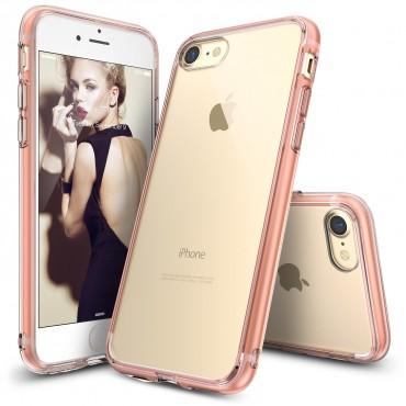"""Ringke """"Fusion"""" védőtok iPhone 8 / iPhone 7 készülékekhez – rose gold crystal"""