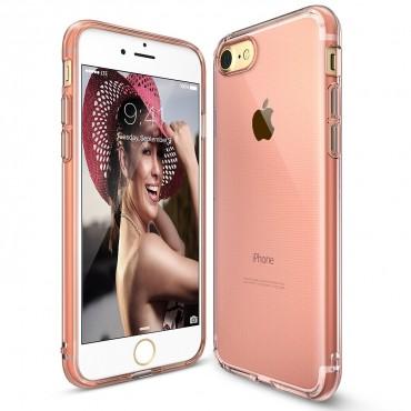 """Tok Ringke """"Air"""" iPhone 8 / iPhone 7 készülékekhez - rose gold crystal"""