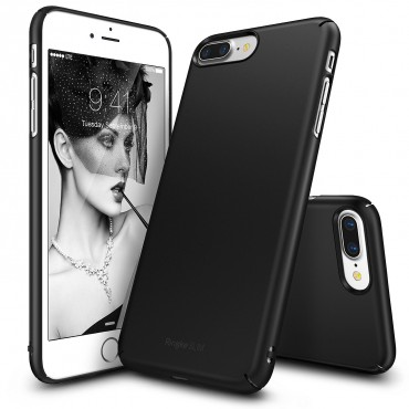 "Ringke ""Slim"" védőtok iPhone 7 Plus telefonokhoz – sf black"
