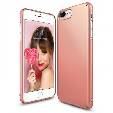 "Ringke ""Slim"" védőtok iPhone 7 Plustelefonokhoz – rose gold"
