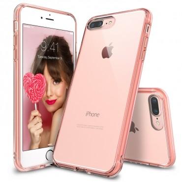 "Tok Ringke ""Fusion"" iPhone 8 Plus / iPhone 7 Plus készülékekhez - rose gold crystal"